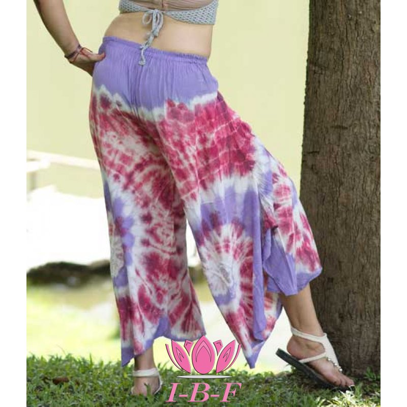 Beach Pants mix purple/red