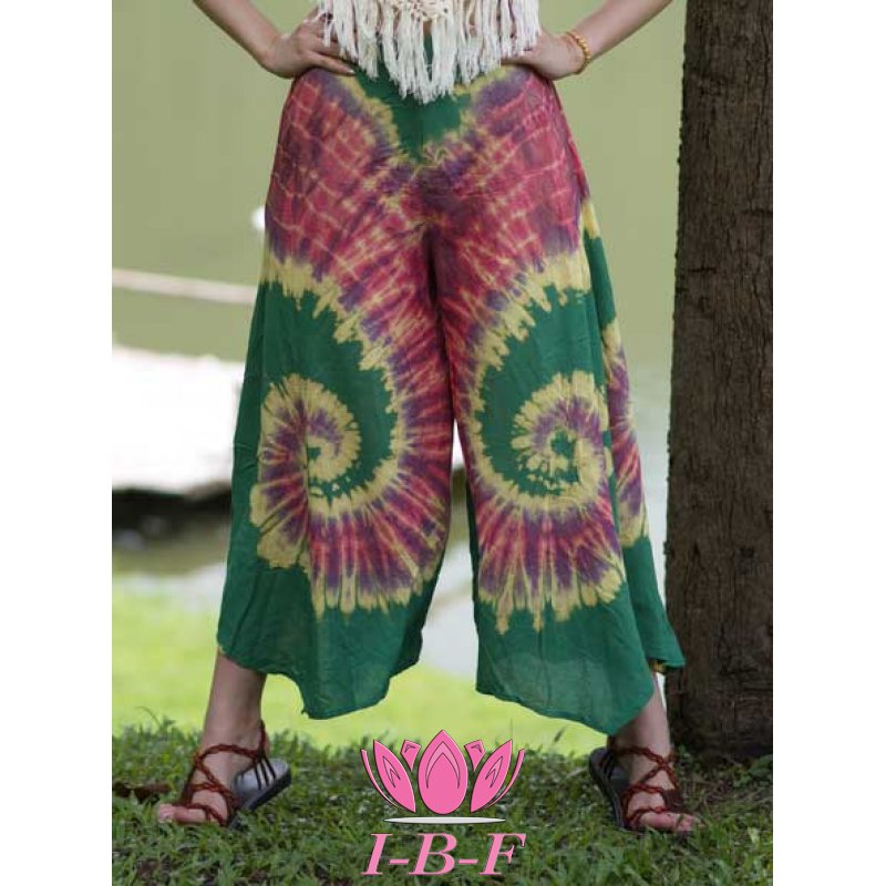 Beach Pants mix green/red
