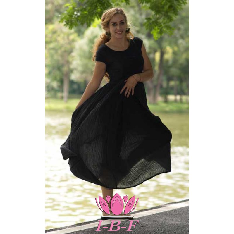 Long dress, black
