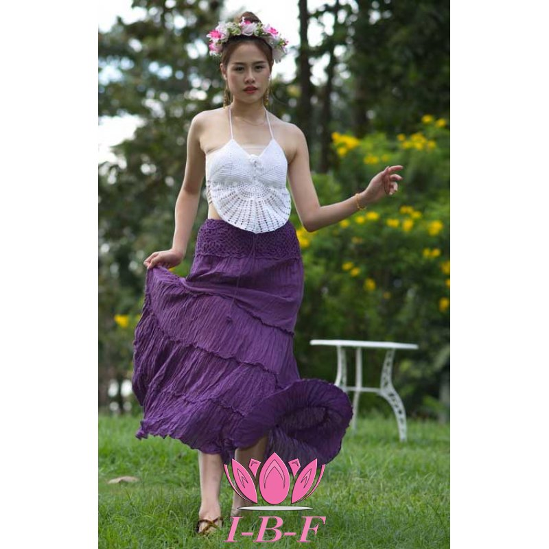 Ribbon Skirt Purple